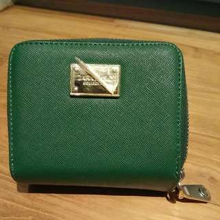 Zara Green Ladies Wallet Purse