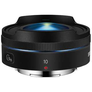 Samsung NX 10mm f/3.5 Fisheye Lens (Black)