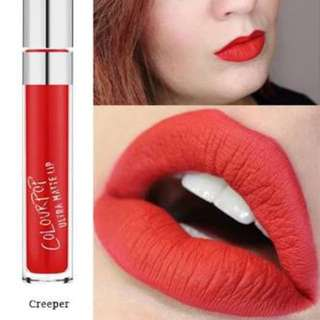 Colourpop in CREEPER