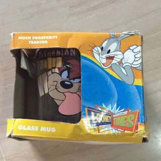 Looney Tunes Glass Cup