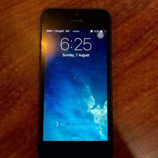 (Sold) Selling Used IPhone 5