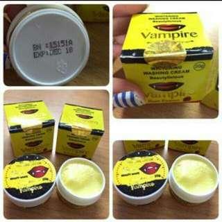 Whitening Washing Cream Vampire