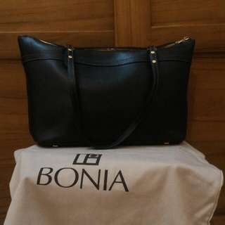 Bonia Black Tote Bag