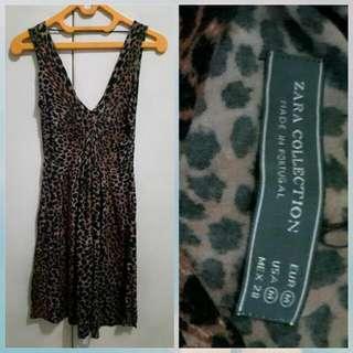 Dress Zara Leopard