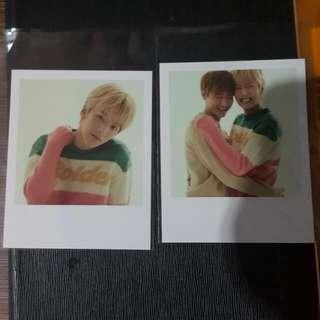 Monsta X Minhyuk IM polaroid ONE FINE DAY POP UP STORE