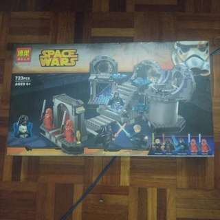 Lego Compatible Death Star Final Duel