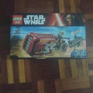 Lego Compatible Rey's Speeder