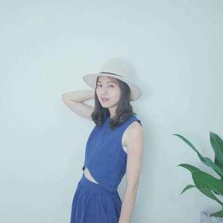 一套現貨~藍色裙子~1+1搭配