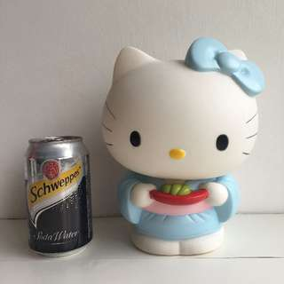 Hello Kitty in Kimono Serving Her Native Food (Sushi) - Coin Bank Box