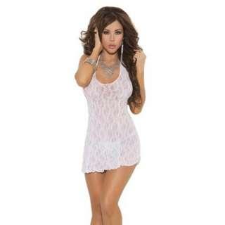 Halter Mini Dress w/ FREEBIE