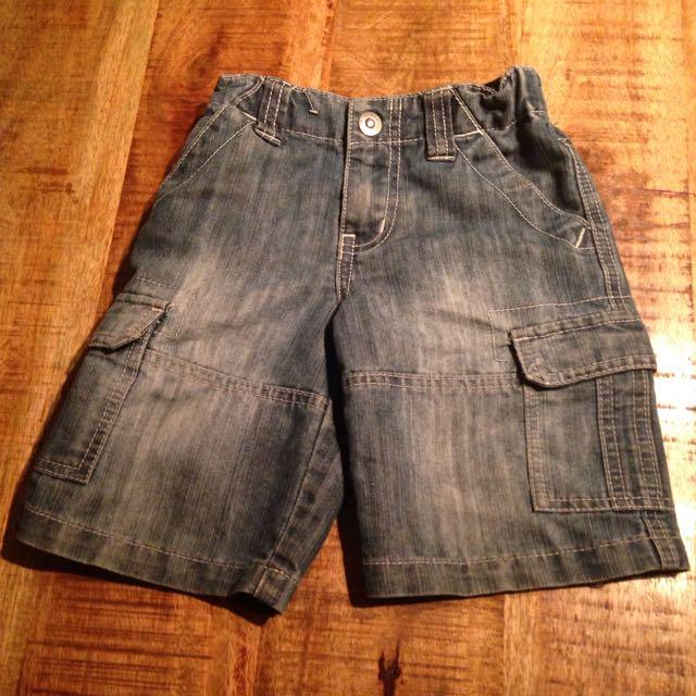 3/4 Denim Shorts