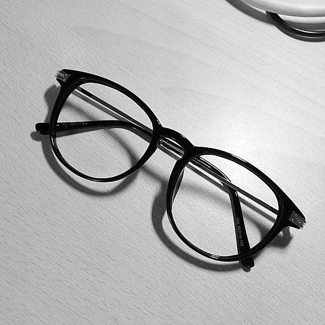 💫 無鏡片黑框眼鏡