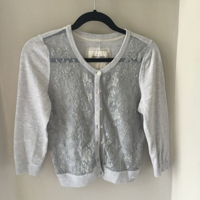 Abercrombie & Fitch Lace Cardigan
