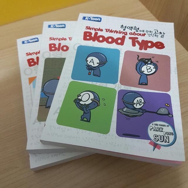 Blood Type 1/2/3