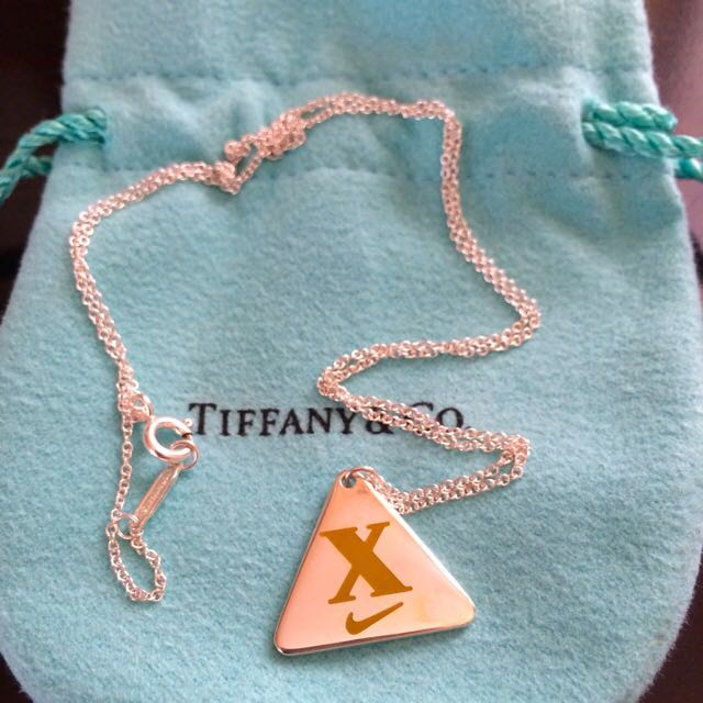 f8e4d0b1a5cd BN Tiffany   Co Nike Marathon 2013 Necklace 10th anniversary of the ...