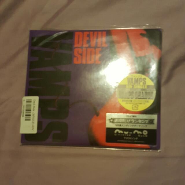 Brand New VAMPS Devil Side CD DVD Single Japan Version