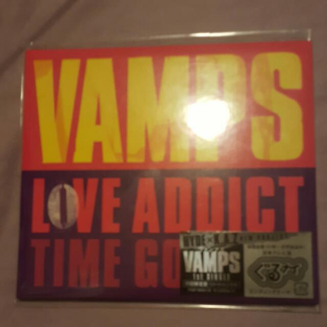 Brand New VAMPS Love Addict CD DVD Single Japan Version