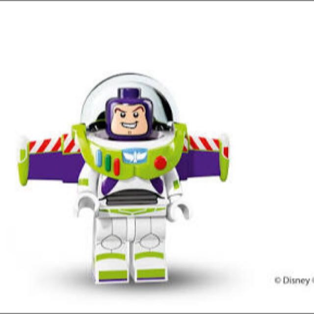 Buzz Lightyear Disney Lego Minifigure