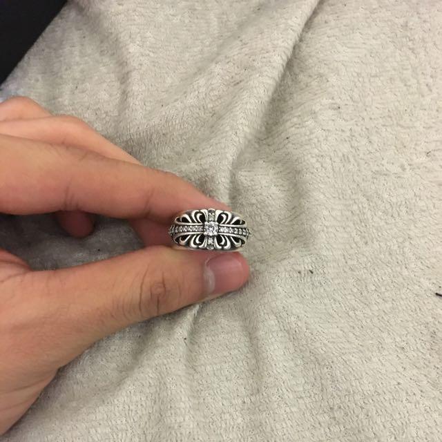 Chrome Heart Ring