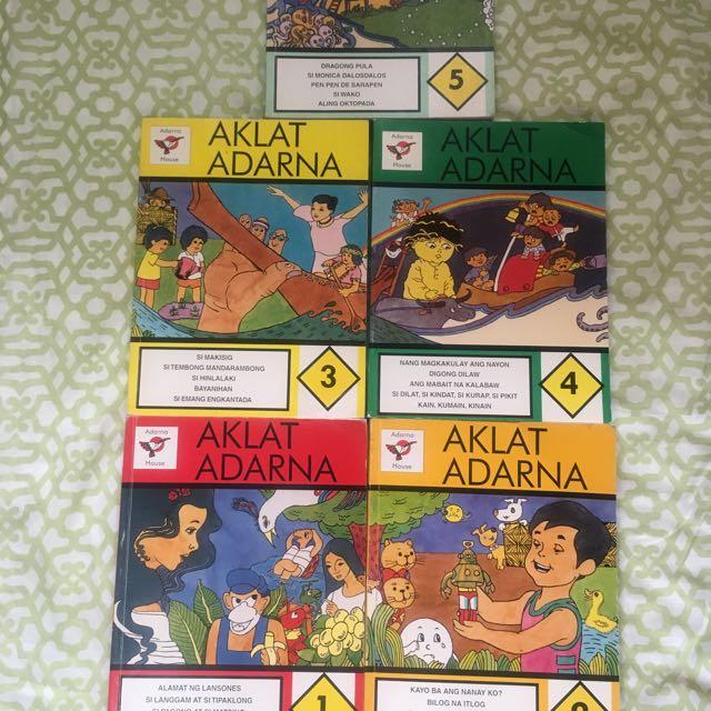 Complete Aklat Adarna Book Set
