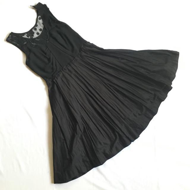 F&H Dainty Black Dress