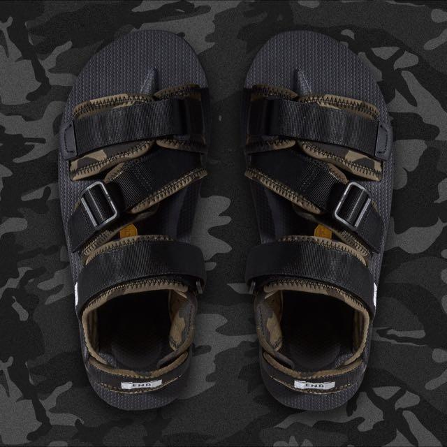 1987804cac6e END. x Suicoke KISEE-V Sandal  Disruptive Pattern Material