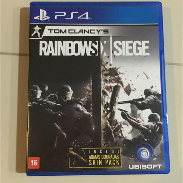 Games PS4 - RainBows X Siege
