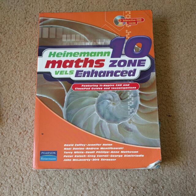 Heinemann Maths Zone Year 10 Vels