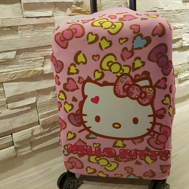3cd21b235be5 Hello Kitty Luggage Cover