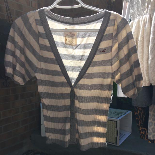 Hollister Short Sleeve Sweater
