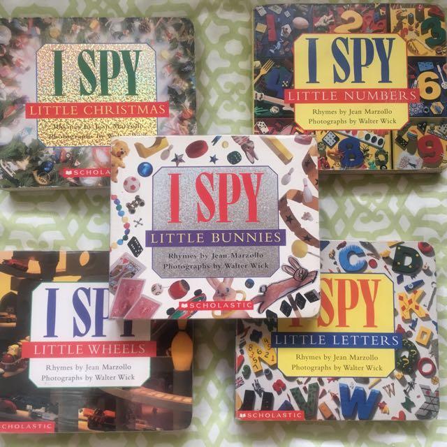 I-Spy Board books (lot of 5 books)