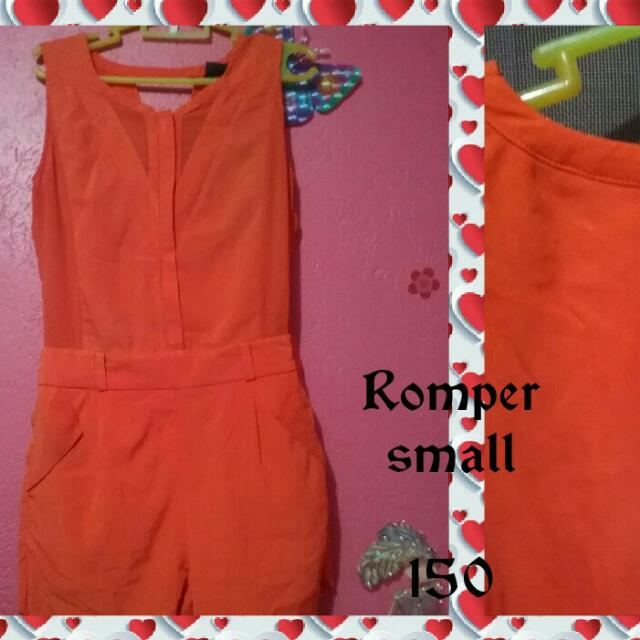 Jumpsuit Small #jollibee