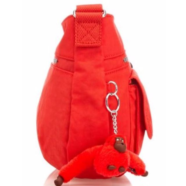 Kipling Syro Ketchup Red Bag Handbag