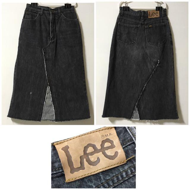 Lee牛仔窄裙