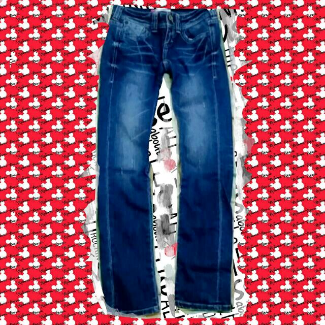 💯Levi's👖女性低腰直筒褲✨便宜二手價