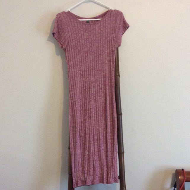 Long Tight Fitting Dress