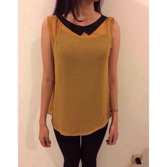 Loose Top Yellow
