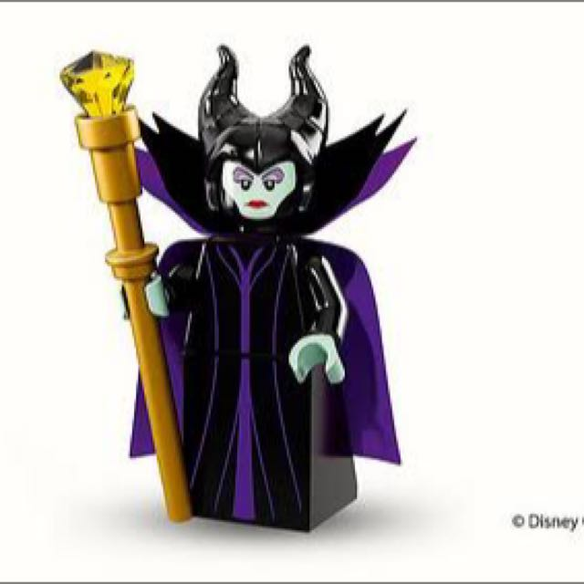 Maleficent Disney Lego Minifigure