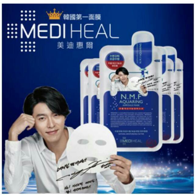 加購商品【MEDIHEAL】韓國銷售第一針劑保溼面膜