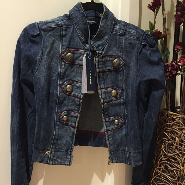 miss sixty denim top BNWT
