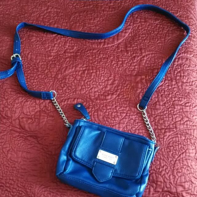 Nine West Navy Blue Bag