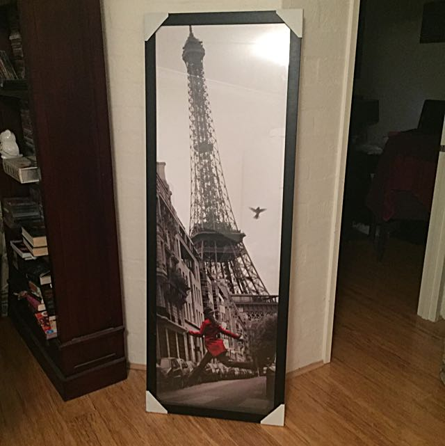 Paris - Eiffel Tower Photo Framed