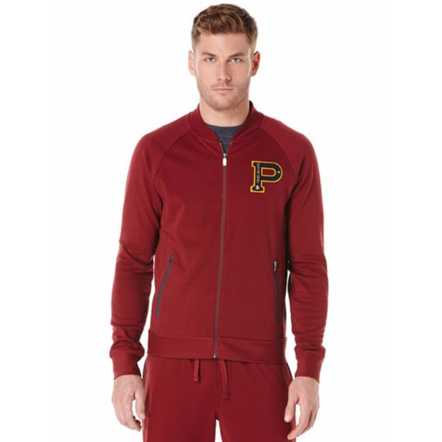 "Penguin Men's ""Vintage Gym"" Poly Track Jacket"