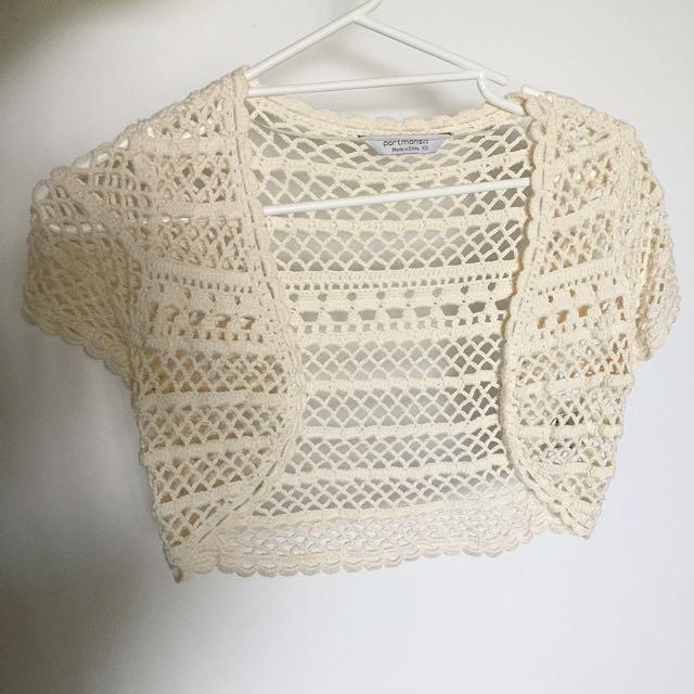 Portmans Crochet Crop