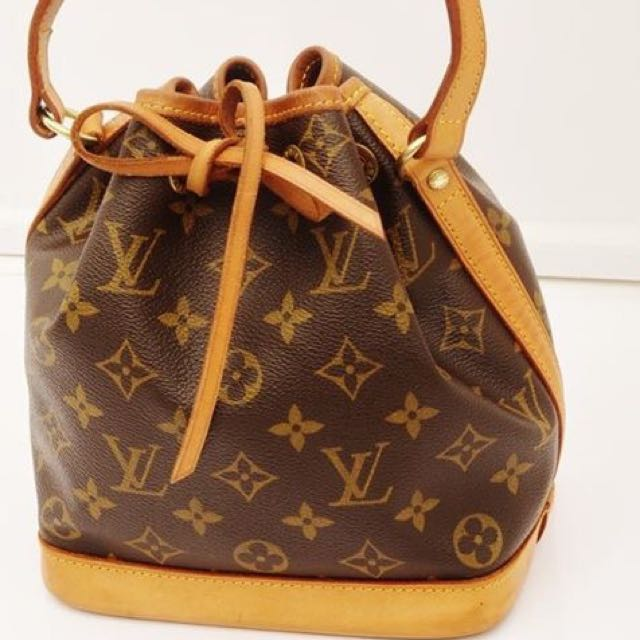 7d952fcec93 PRE-LOVED Authentic Louis Vuitton Monogram Mini Noe Shoulder Bag ...