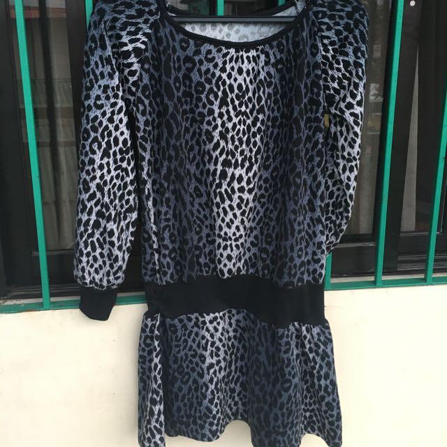 Preloved Leopard Dress
