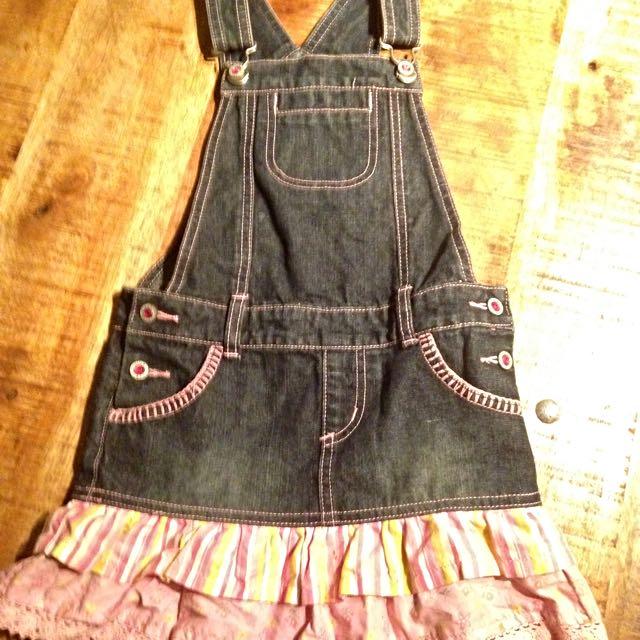 Pumpkin Patch Overall Dress