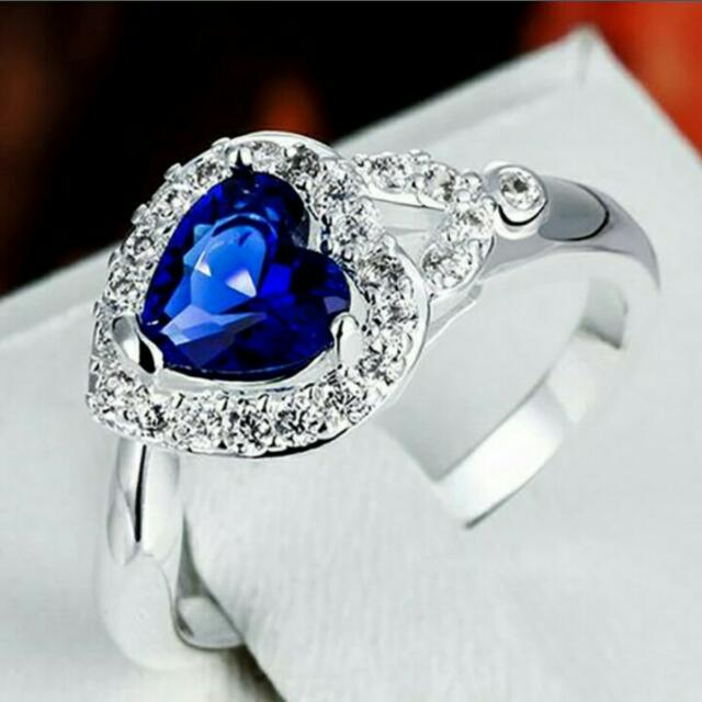 Sapphire ring(free shipping)