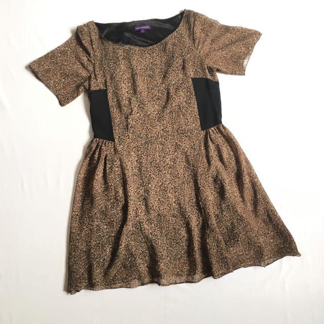Brown Dainty Dress