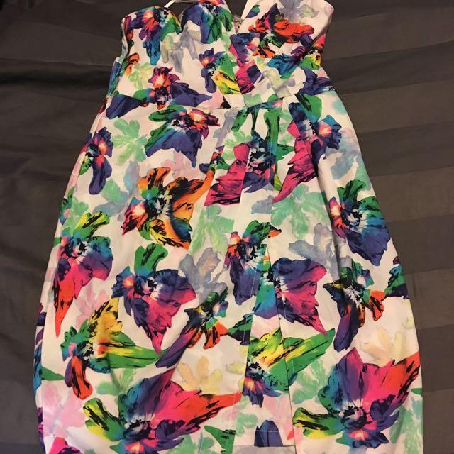 Shareen Butterfly Dress Size 10 BNWT